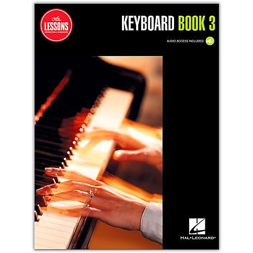Guitar Center Keyboard Method Book 3 - Guitar Center Lessons (Book/Audio)
