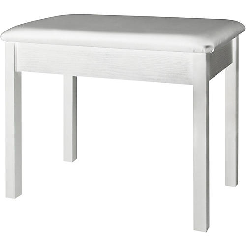 On-Stage Keyboard/Piano Bench (White)