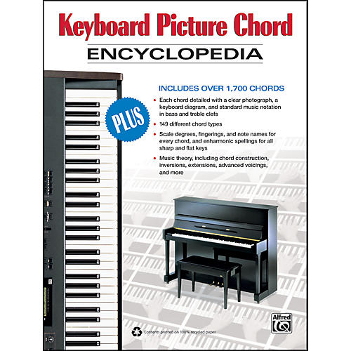 Alfred Keyboard Picture Chord Encyclopedia Book Guitar Center