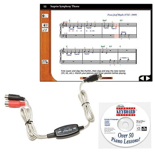eMedia Keyboard USB MIDI Interface Kit