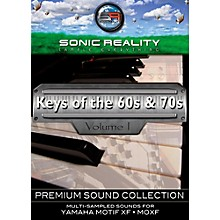 Sonic Reality Keys of the '60s and '70s for Motif Activation Card