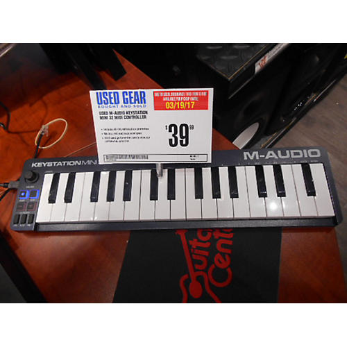 M-Audio Keystation Mini 32 MIDI Controller