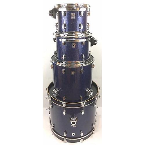 used ludwig keystone drum kit blue sparkle guitar center. Black Bedroom Furniture Sets. Home Design Ideas