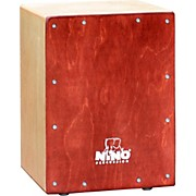 Kids Cajon Natural Body Wine Red Front Plate