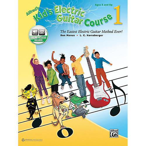 Alfred Kid's Electric Guitar Course 1 (Book/Online Audio)