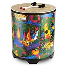 Remo Kid's Percussion Rain forest Gathering Drum Level 1  21 x 18 in.