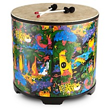 Remo Kid's Percussion Rain forest Gathering Drum Level 1  21 x 22 in.
