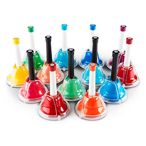 Rhythm Band Kid's Play 13-Note Hand/Desk Bell Set