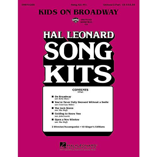 Hal Leonard Kids on Broadway (Song Kit #41) (2-Part Song Kit) 2-Part Arranged by John Leavitt