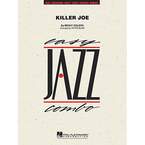 Hal Leonard Killer Joe Jazz Band Level 2 Arranged by Peter Blair