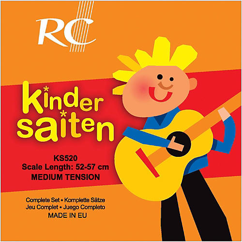 RC Strings Kindersaiten KS520 Nylon Guitar Strings (52-57)