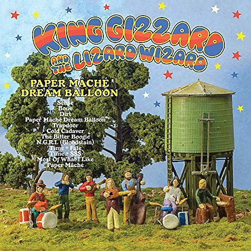 Alliance King Gizzard and the Lizard Wizard - Paper Mache Dream Ballon