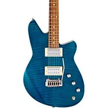 Kingbolt RA Dark Roast Pau Ferro Fingerboard Electric Guitar Turquoise