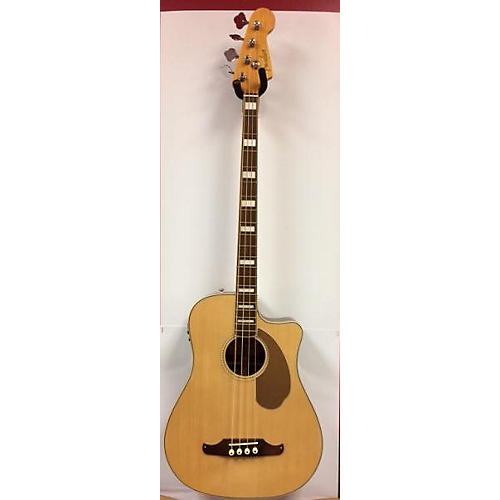 Fender Kingman Acoustic Electric Bass Acoustic Bass Guitar