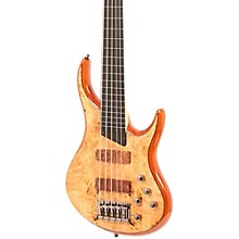 Kingston KZ 5-String Fretless Bass Gloss Natural Ebonol