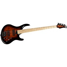 Kingston KZ Electric Bass Guitar Level 1 Tobacco Sunburst Maple