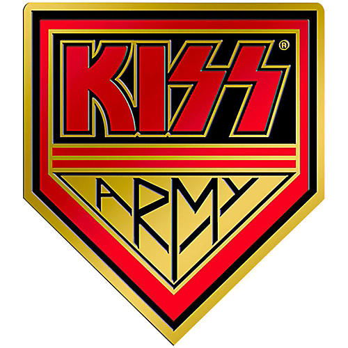 C&D Visionary Kiss Army Heavy Metal Sticker