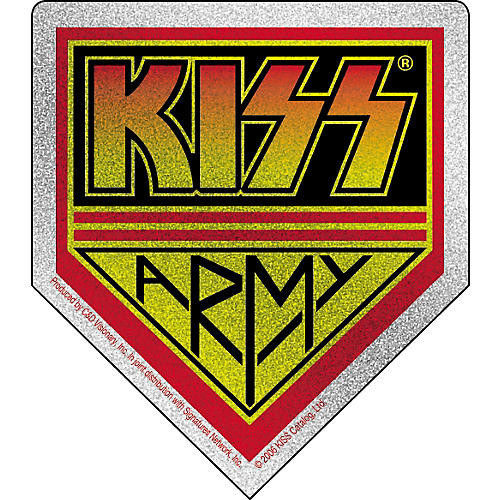 C&D Visionary Kiss Glitter Sticker