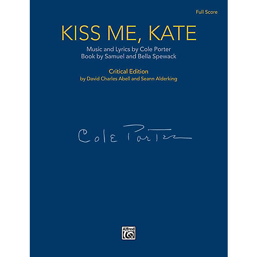 Alfred Kiss Me, Kate - Full Orchestral Score (Case Bound)