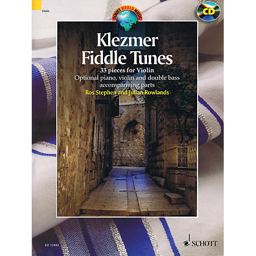 Schott Klezmer Fiddle Tunes String Solo Series Softcover with CD