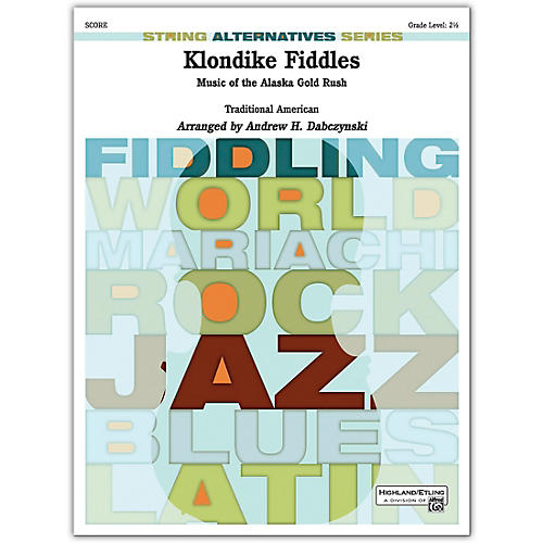 Alfred Klondike Fiddles Conductor Score 2.5