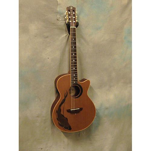 Luna Guitars Koi Nyl Classical Acoustic Electric Guitar