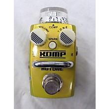 Hotone Effects Komp Opto Compressor Skyline Series Effect Pedal