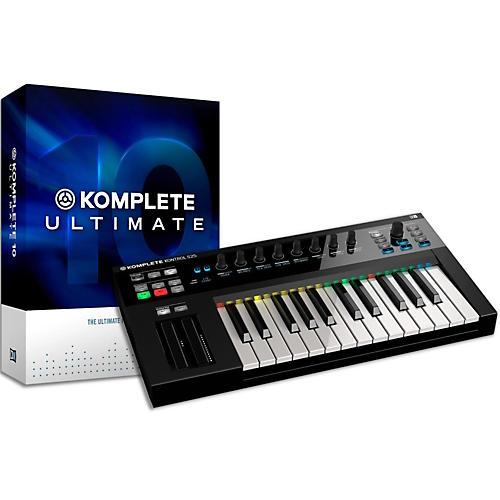 native instruments komplete 10 ultimate and kontrol s25 keyboard bundle guitar center. Black Bedroom Furniture Sets. Home Design Ideas