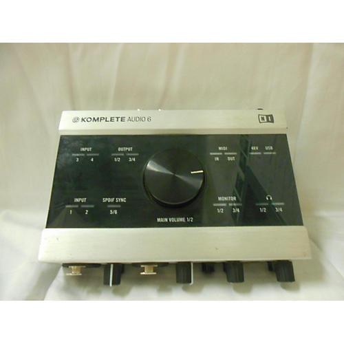 Native Instruments Komplete Audio 6 Interface Audio Interface