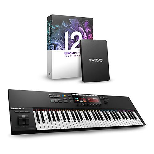 Native Instruments Komplete Kontrol S61 MK2 with Komplete 12 Ultimate