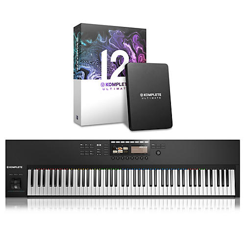 Native Instruments Komplete Kontrol S88 MK2 with Komplete 12 Ultimate