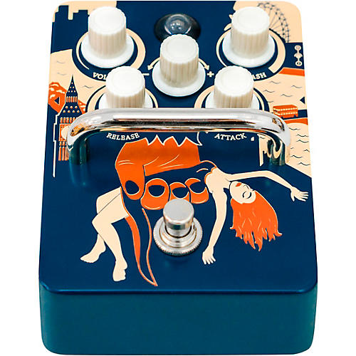 Orange Amplifiers Kongpressor Analog Compression Effects Pedal