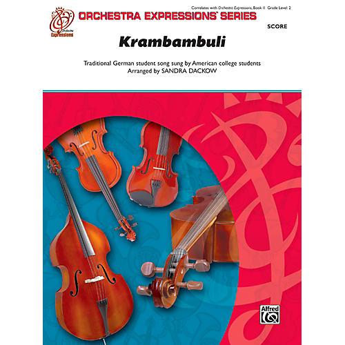 Alfred Krambambuli String Orchestra Grade 2 Set