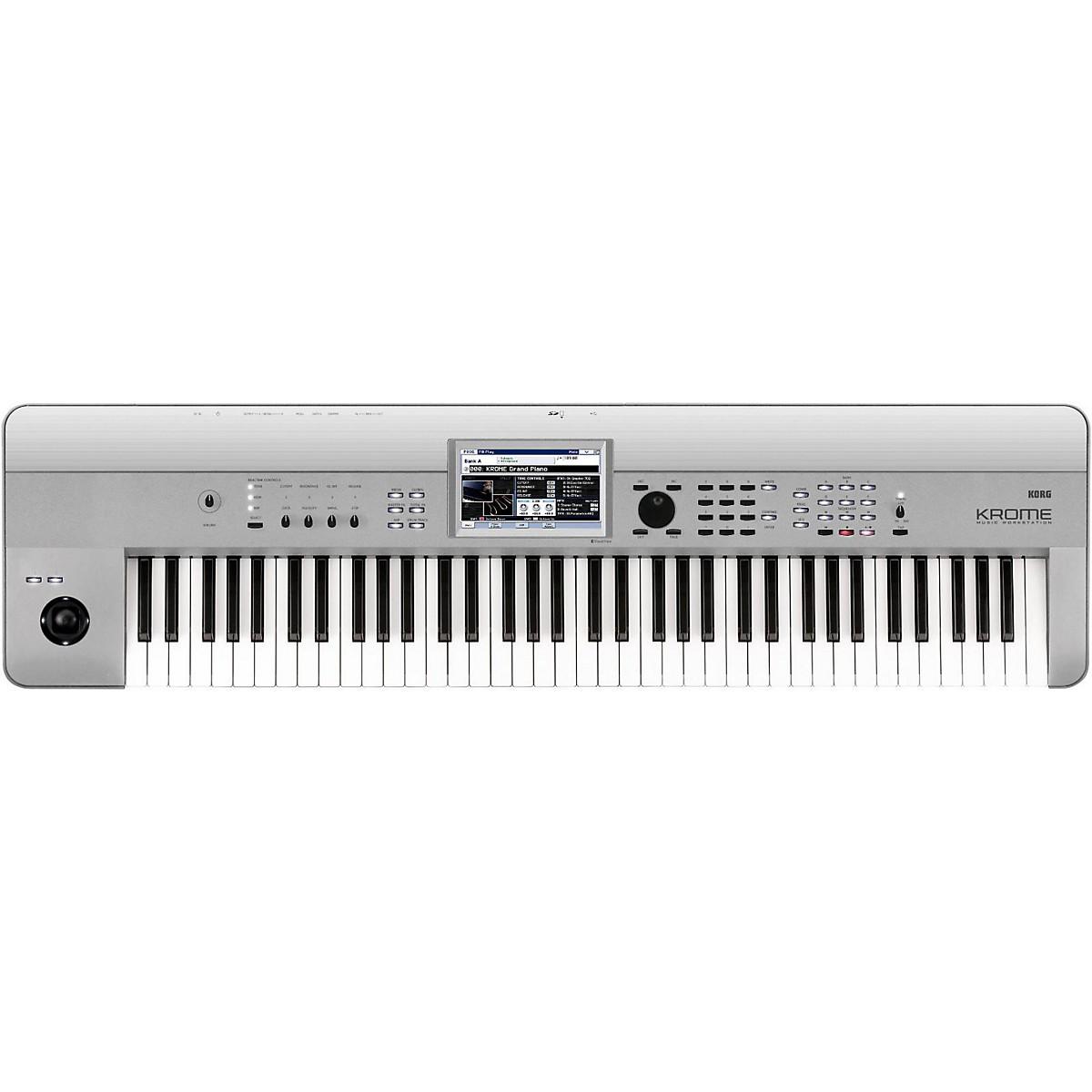 Korg Krome 73 Limited Edition Platinum Keyboard Workstation