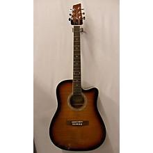 Kona Ksp1cesb Acoustic Electric Guitar
