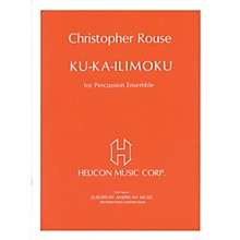 Schott Ku Ka-Ilimoku (for Percussion Ensemble - Full Score and Parts) Schott Series Softcover