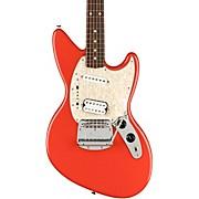 Kurt Cobain Jag-Stang Rosewood Fingerboard Electric Guitar Fiesta Red