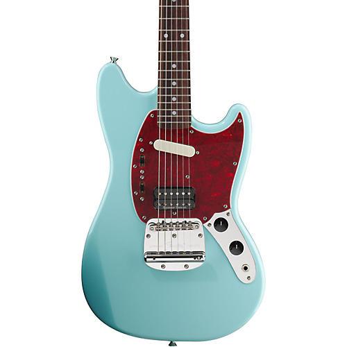 fender kurt cobain signature mustang electric guitar sonic blue rosewood fingerboard guitar center. Black Bedroom Furniture Sets. Home Design Ideas