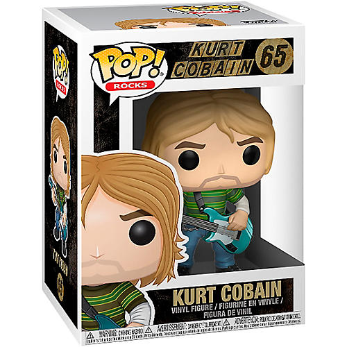 Funko Kurt Cobain in Striped Shirt Pop! Vinyl Figure