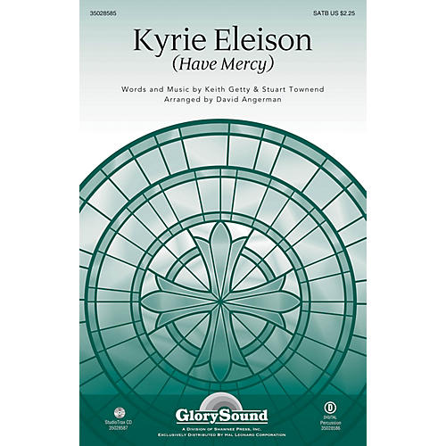 Shawnee Press Kyrie Eleison (Have Mercy) SATB arranged by David Angerman