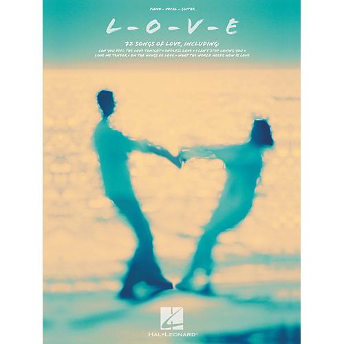 Hal Leonard L-O-V-E Love Songs Piano/Vocal/Guitar Songbook