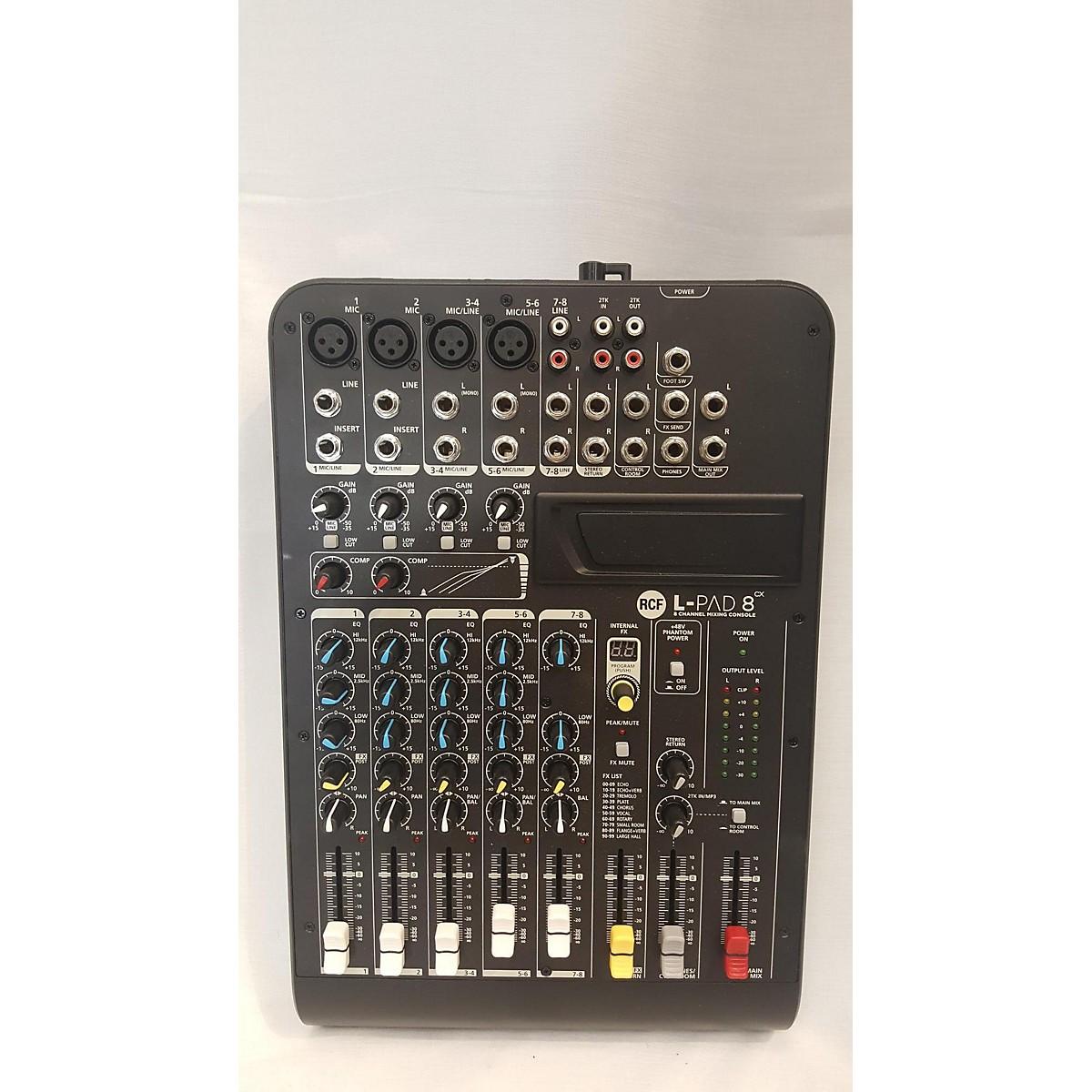 RCF L-PAD 8CX Unpowered Mixer