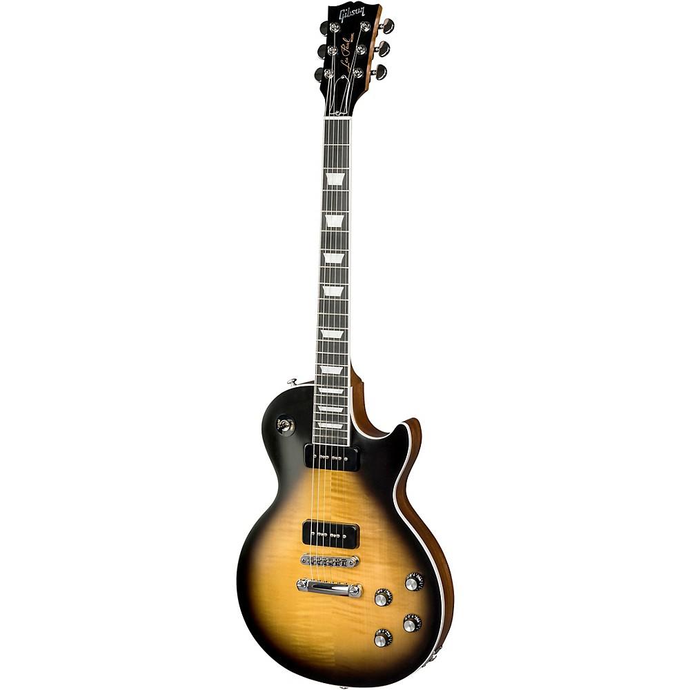 Gibson 2018 Les Paul Classic Player Plus Electric Guitar Satin Vintage Sunburst -  LPCSPP18SVCH1