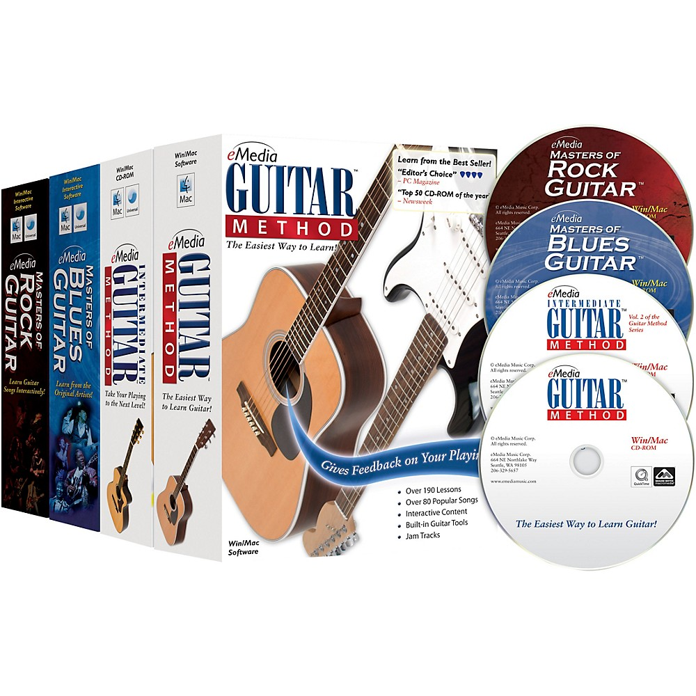 Emedia Guitar Collection (2018 Edition) - 4 Volume Set 1500000208112