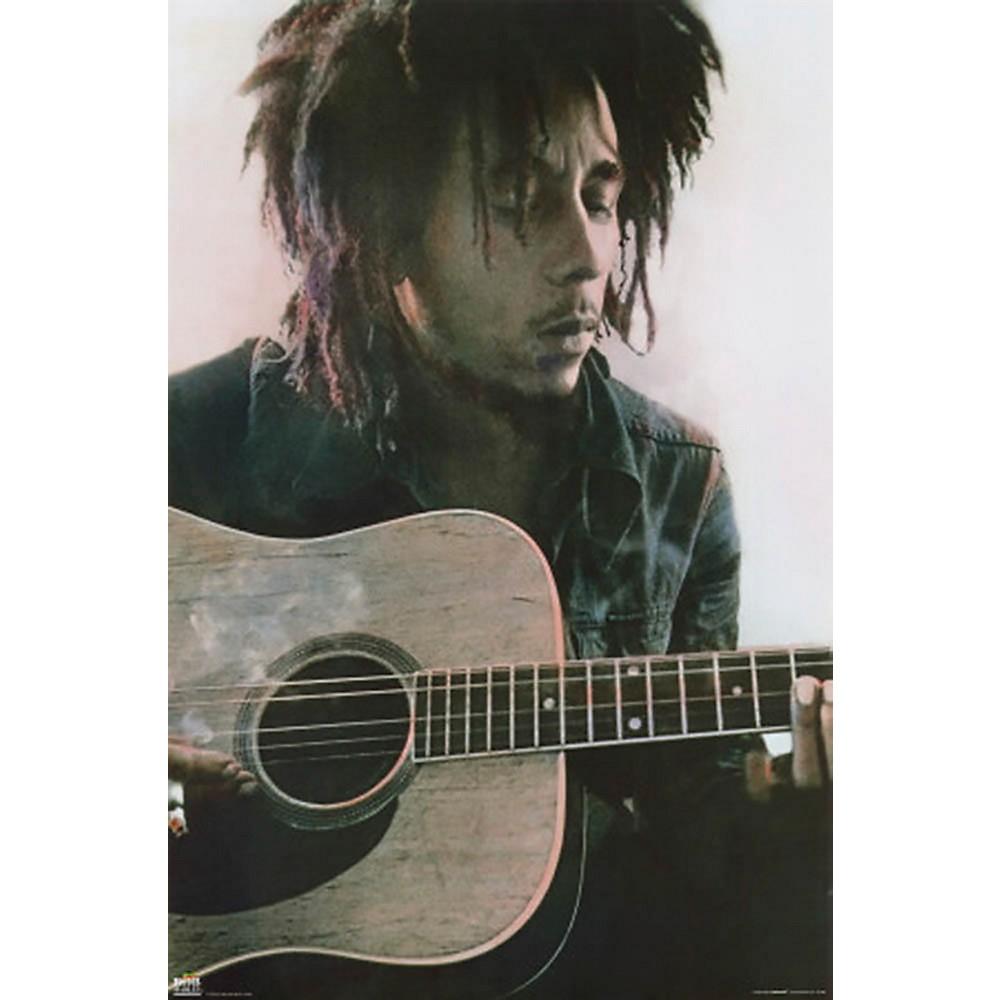 Hal Leonard Bob Marley - Acoustic - Wall Poster 1500000207918