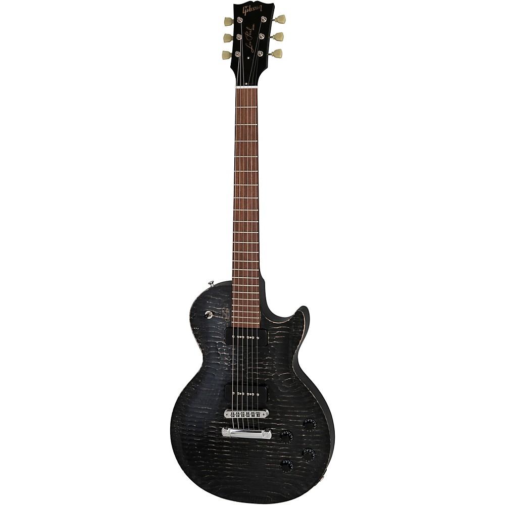 Gibson Limited Edition Les Paul Bfg Electric Guitar Worn Ebony -  LPBG18WECH1