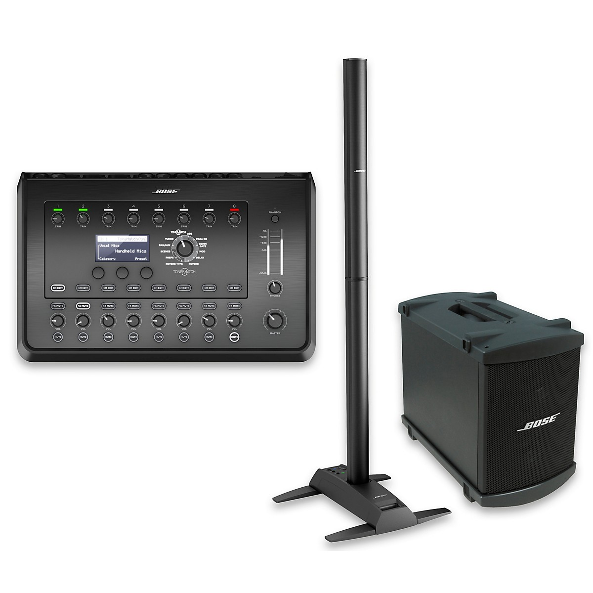Bose L1 Model II System with Dual B1 Bass Module and T8S Audio Engine