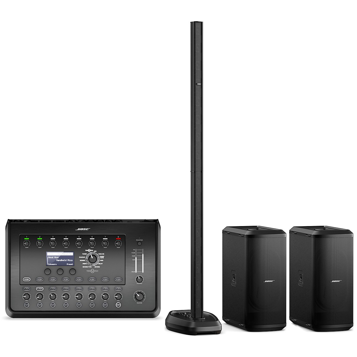 Bose L1 Pro32 Portable PA With Dual Sub2 Powered Bass Modules and T8S Audio Engine
