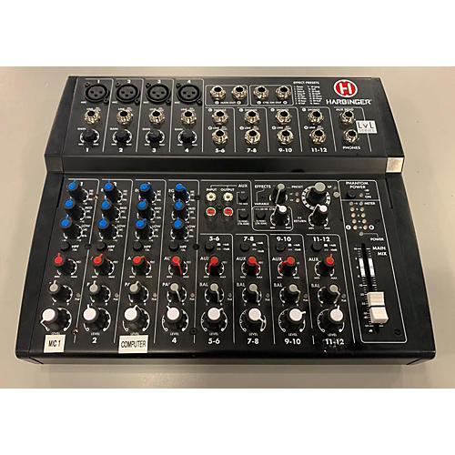 Harbinger L1202fx Powered Mixer