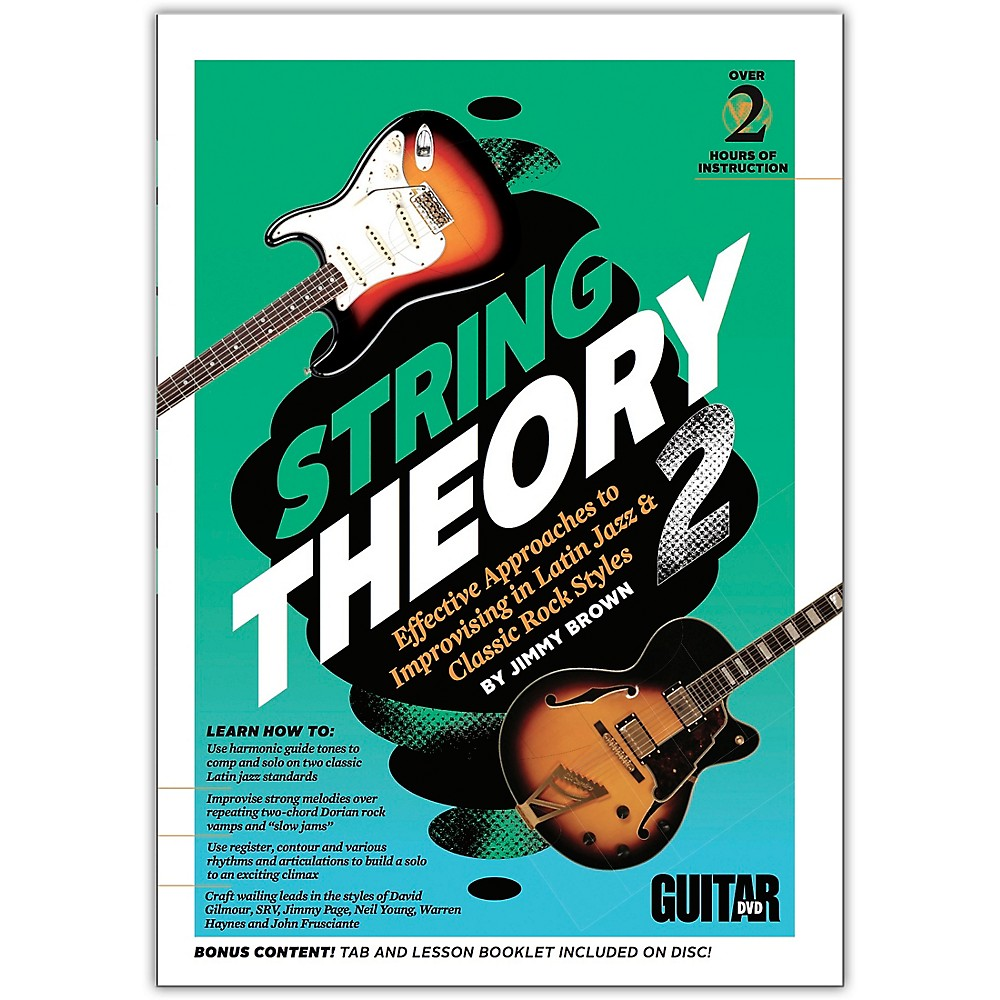Guitar World Guitar World: String Theory 2 DVD Intermediate 1500000211449